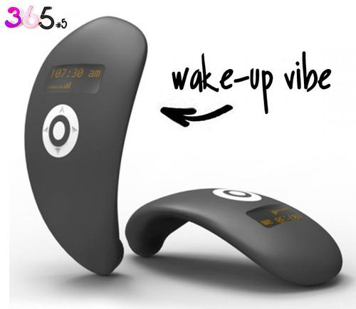 Dit is een afbeelding van de wake up vibe vibrator
