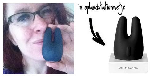 Dit is een afbeelding van jimmyjane form 2 vibrator