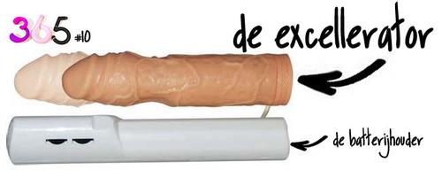 Dit is een afbeelding van de excellerator vibrator