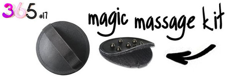 Dit is een afbeelding van de magic massage kit 2
