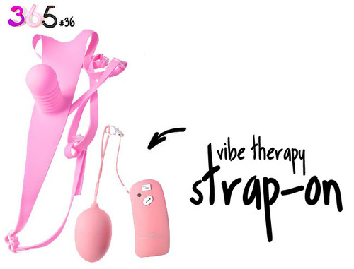 Dit is een afbeelding van vibe therapy strapon on