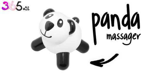Dit is een afbeelding van de panda massager vibrator