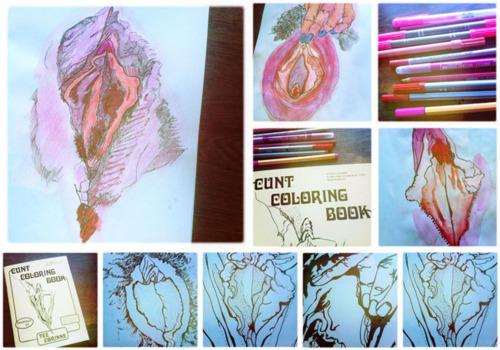 Dit is een afbeelding van het kutten kleurboek