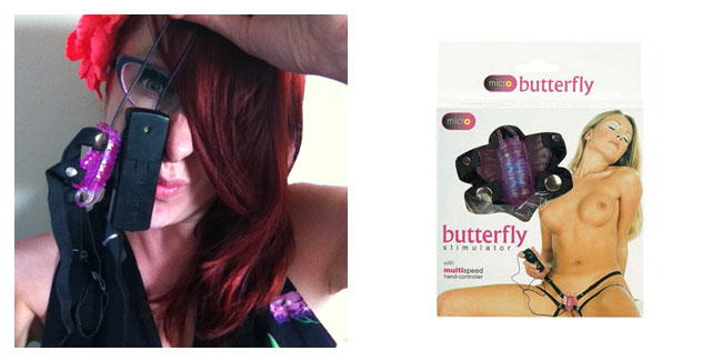 butterfly vibrator 105