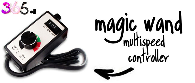 magic wand multispeedcontroller