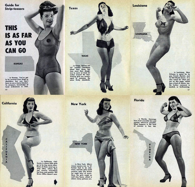 striptease, regels, betty page, sexy