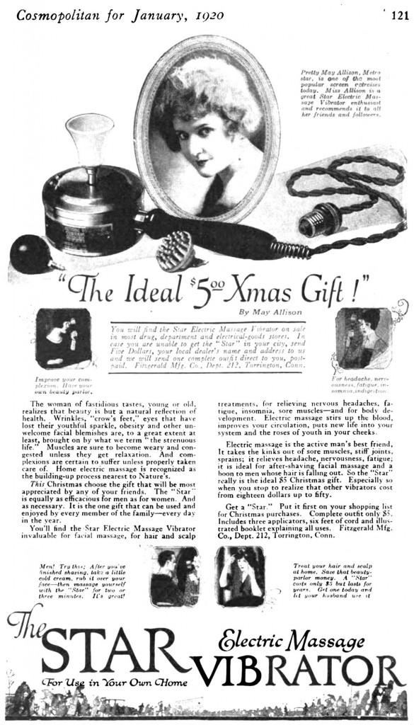 ideale kerstcadeau vibrator antiek