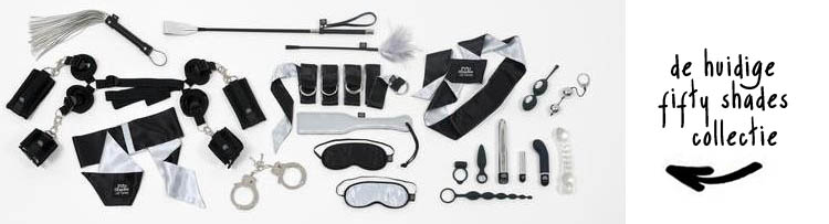 fifty shades of grey sex toy collectie