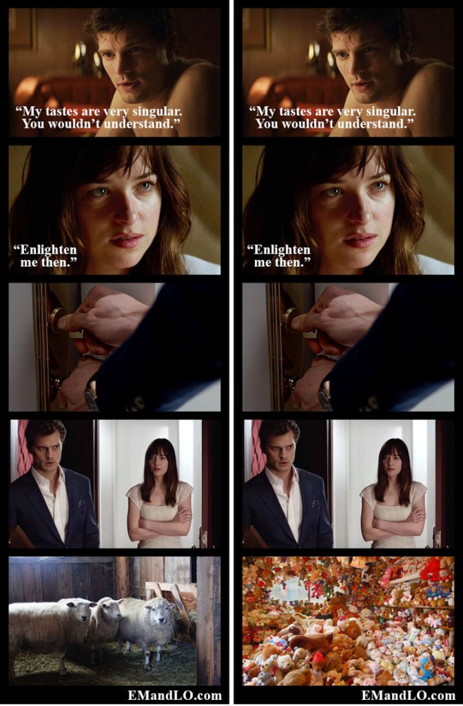fifty shades meme