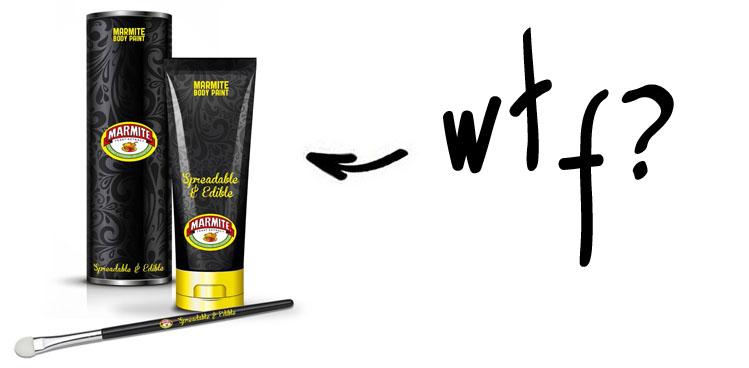 marmite body paint