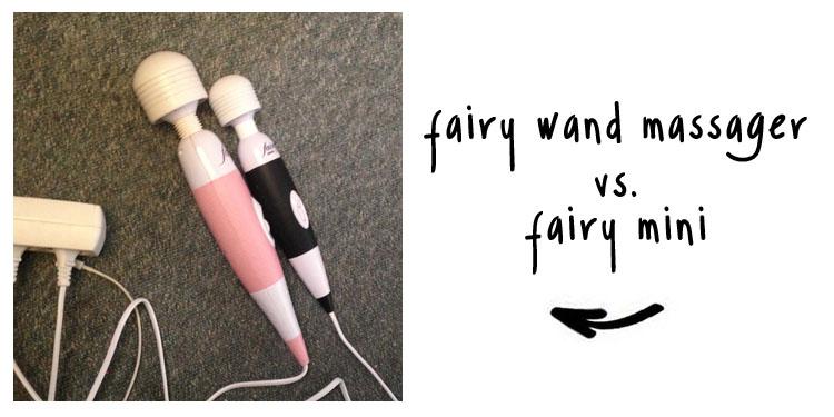 fairy wand massager vs fairy mini