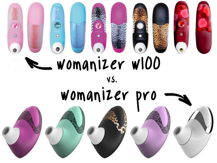 womanizer pro vs womanizer w100