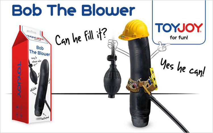 bob the blower opblaasbare dildo