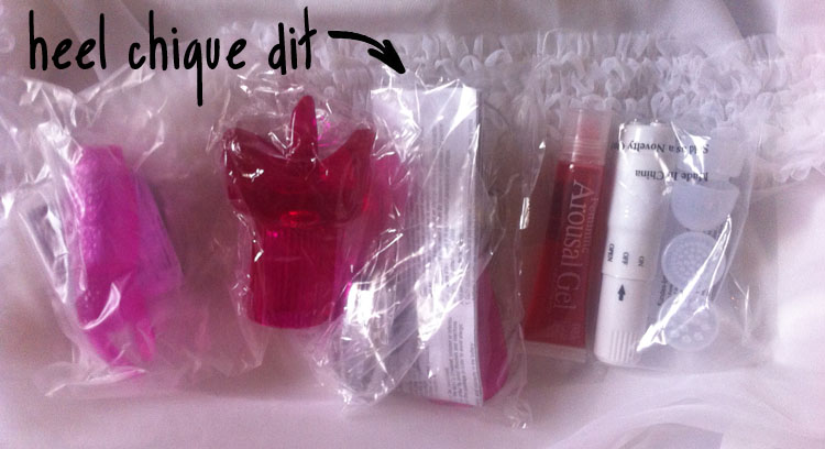 her clit kit verpakking