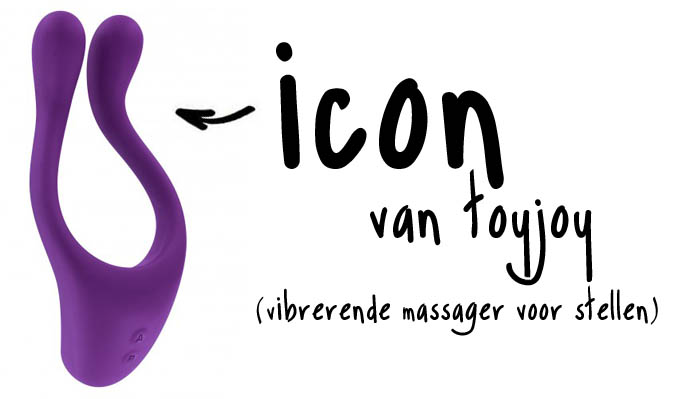 toyjoy icon vibrerende massager