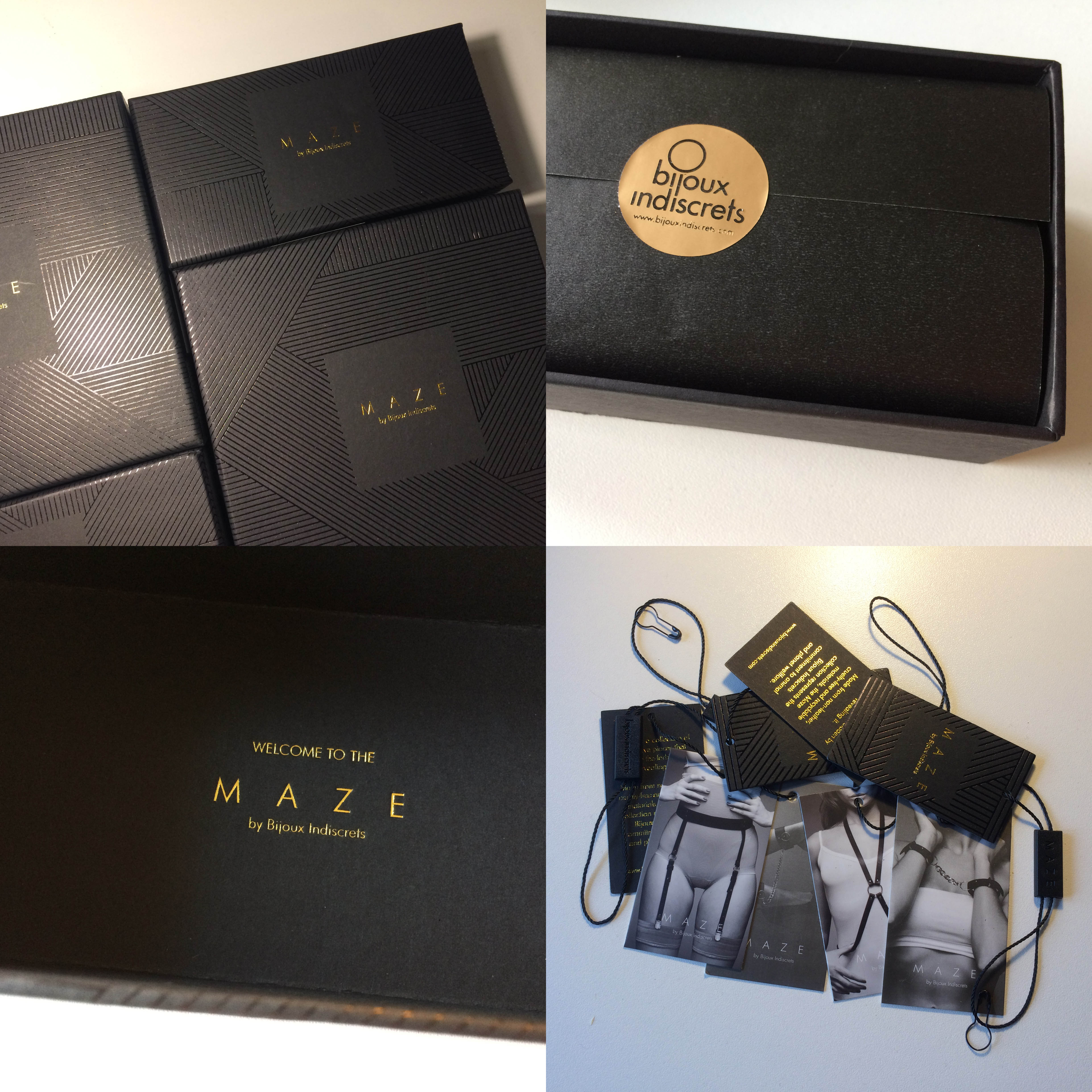 Dit is een afbeelding van box bijoux indiscrets maze collection