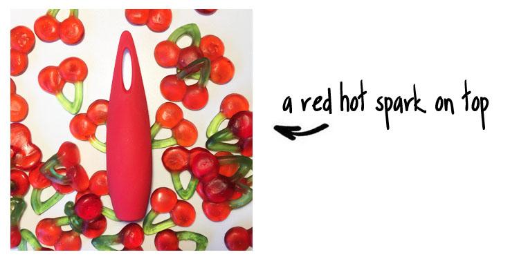 Dit is een afbeelding van red hot spark stimulator