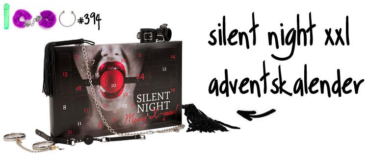 Dit is een afbeelding van silent night adventskalender