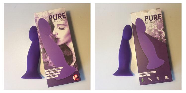Dit is een afbeelding van pure lilac vibes vibrator