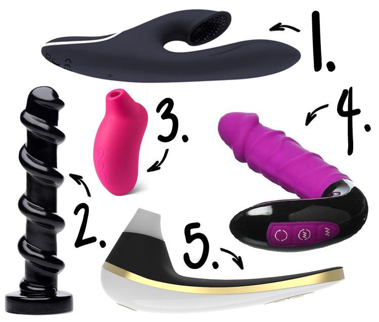 Dit is een afbeelding van top 5 slechte seksspeeltjes