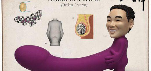 Dit is een afbeelding van wobbling willie