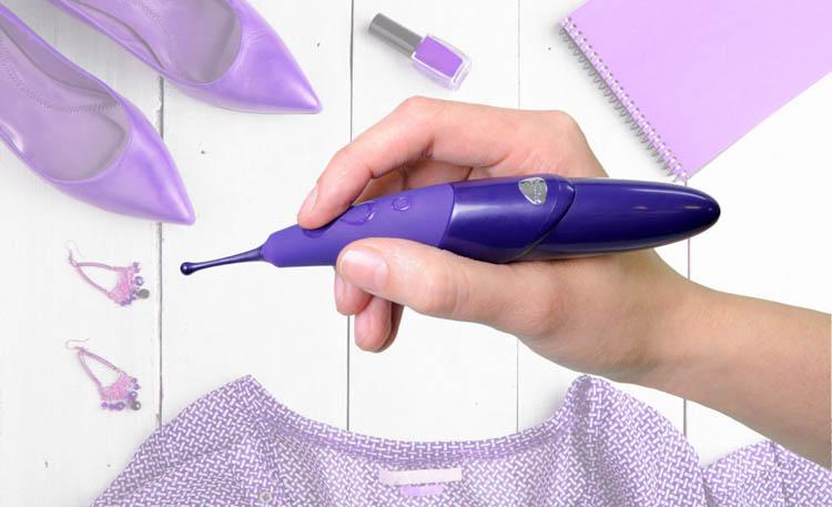 Dit is een afbeelding van zumio spirotip vibrator aanbieding