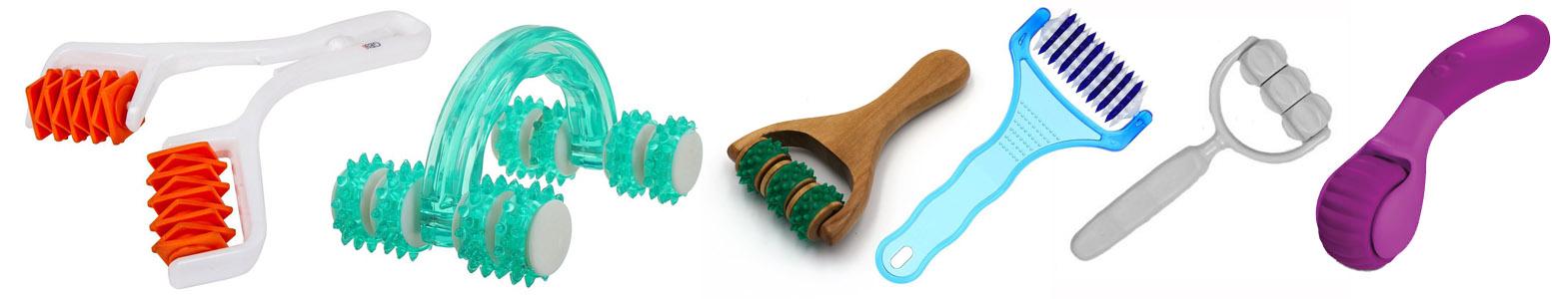 Dit is een afbeelding van Мануальный мини массажер gess roller 3