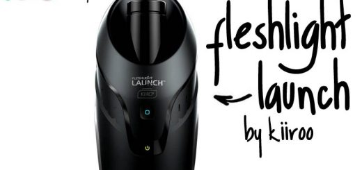 Dit is een afbeelding van fleshlight launch by kiiroo masturbator