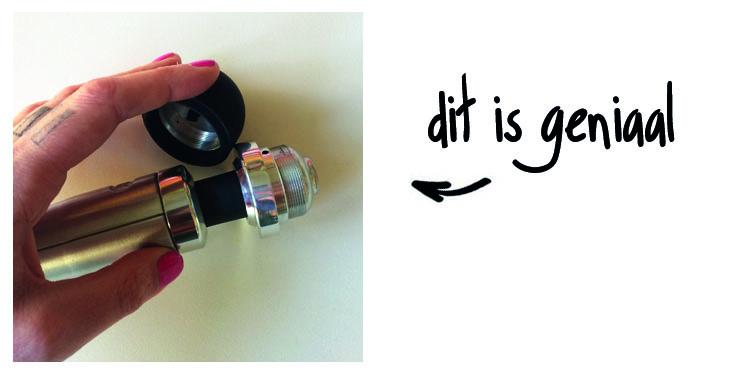 Dit is een afbeelding van afschroefbare kop van de doxy number 3 vibrator