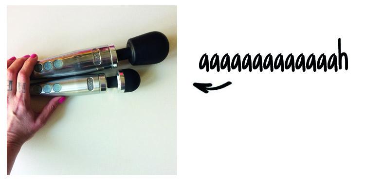 Dit is een afbeelding van doxy number 3 vibrator versus doxy die cast vibrator
