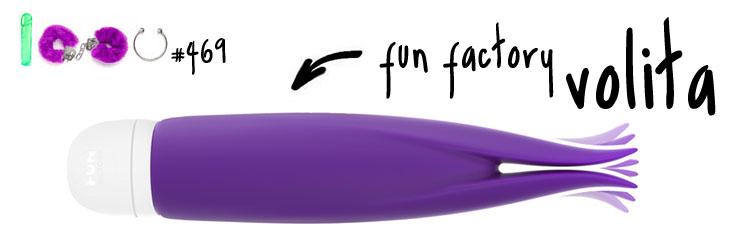 Dit is een afbeelding van fun factory volita review test climaximaal vibrator
