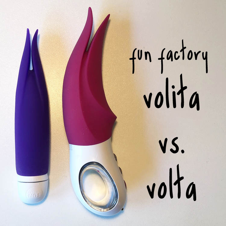 Dit is een afbeelding van fun factory volta vs volita review test