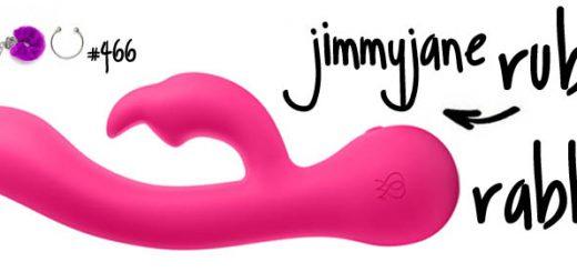 Dit is een afbeelding van jimmyjane ruby rabbit duo vibrator rabbit review test
