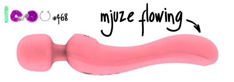 Dit is een afbeelding van mjuze flowing vibrator wand vibrator test revies