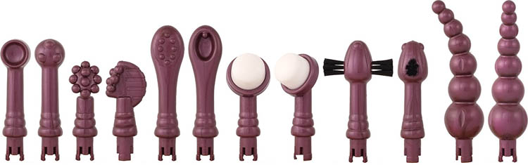 Dit is een afbeelding van opzetstukken eroscillator