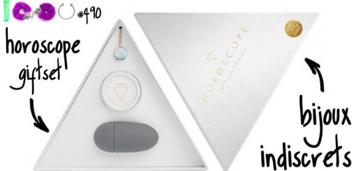 Dit is een afbeelding van bijoux indiscrets horoscope giftset review test by luna