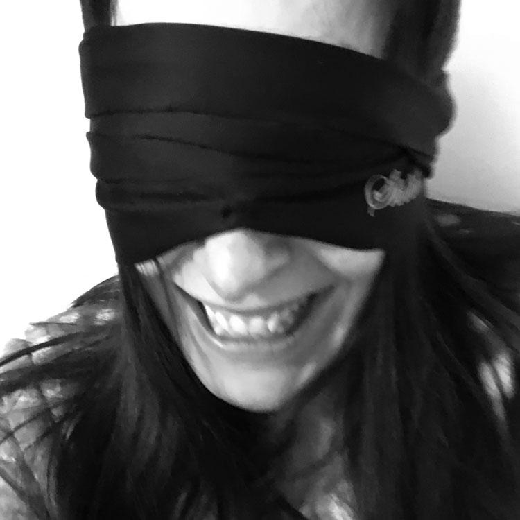 Dit is een afbeelding van blinddoek