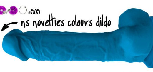 Dit is een afbeelding van ns novelties colours dildo review grote dildo