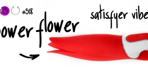 Dit is een afbeelding van satisfyer power flower vibrator test review