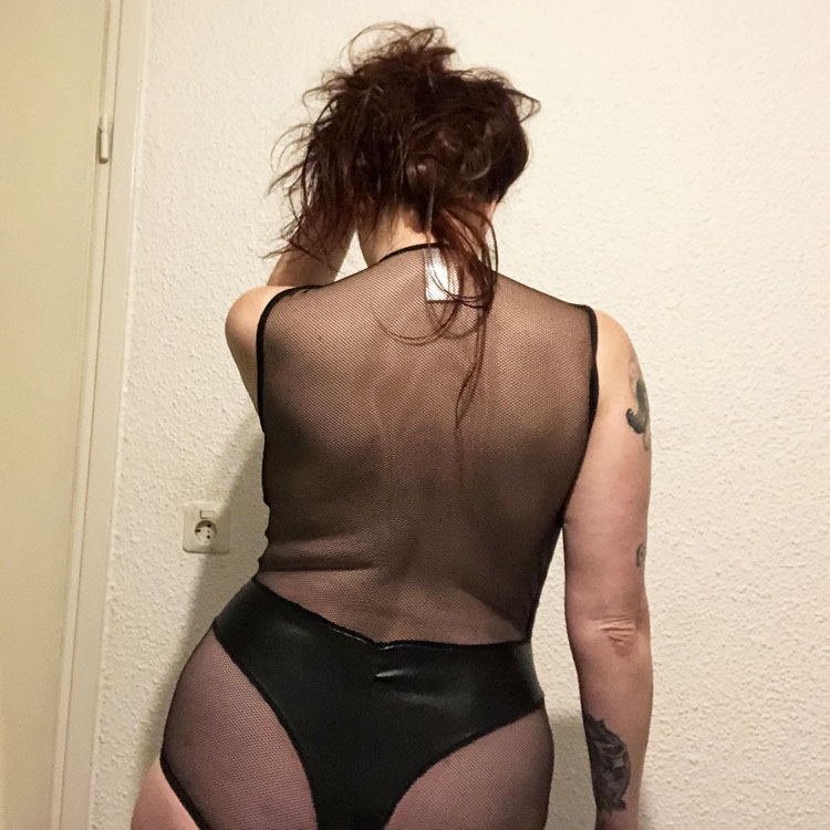 Dit is een afbeelding van cottelli lingerie rug