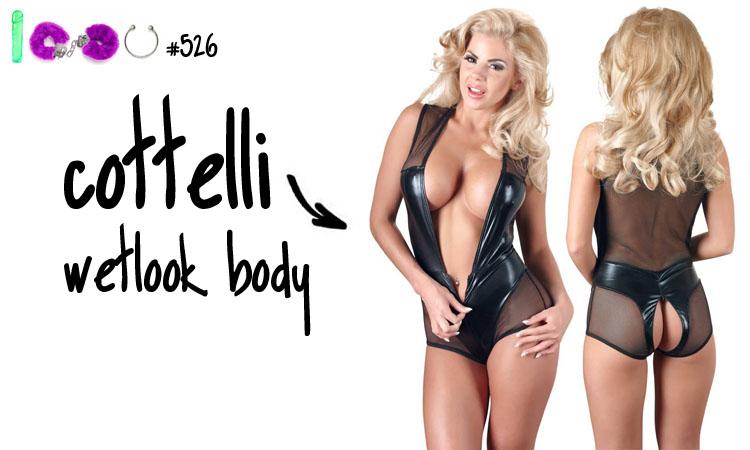 Dit is een afbeelding van cottelli wetbook body review lingerie