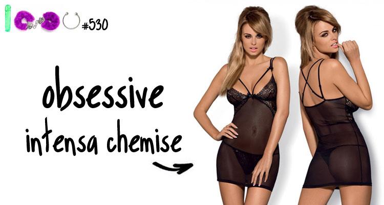 Dit is een afbeelding van obsessive chemise intensa lingerie review luna
