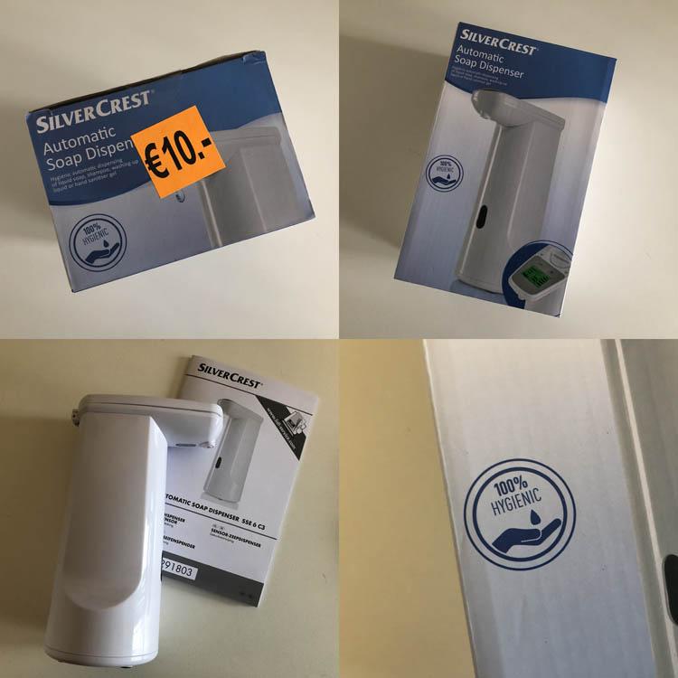 Dit is een afbeelding van zeep dispenser voor glijmiddel review test