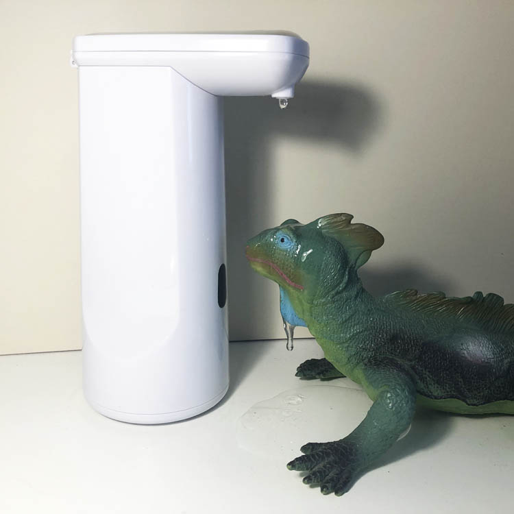 Dit is een afbeelding van zeepdispenser voor glijmiddel