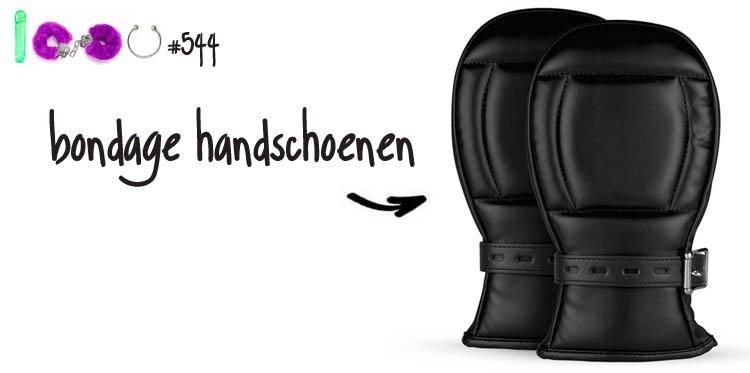 Dit is een afbeelding van bondage handschoenen bdsm review