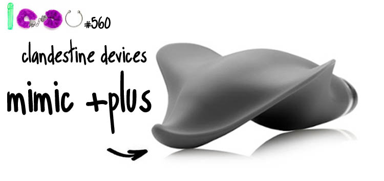 Dit is een afbeelding van clandestine devices mimic plus vibrator review
