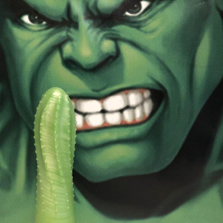 Dit is een afbeelding van prickley pear groen hulk dildo