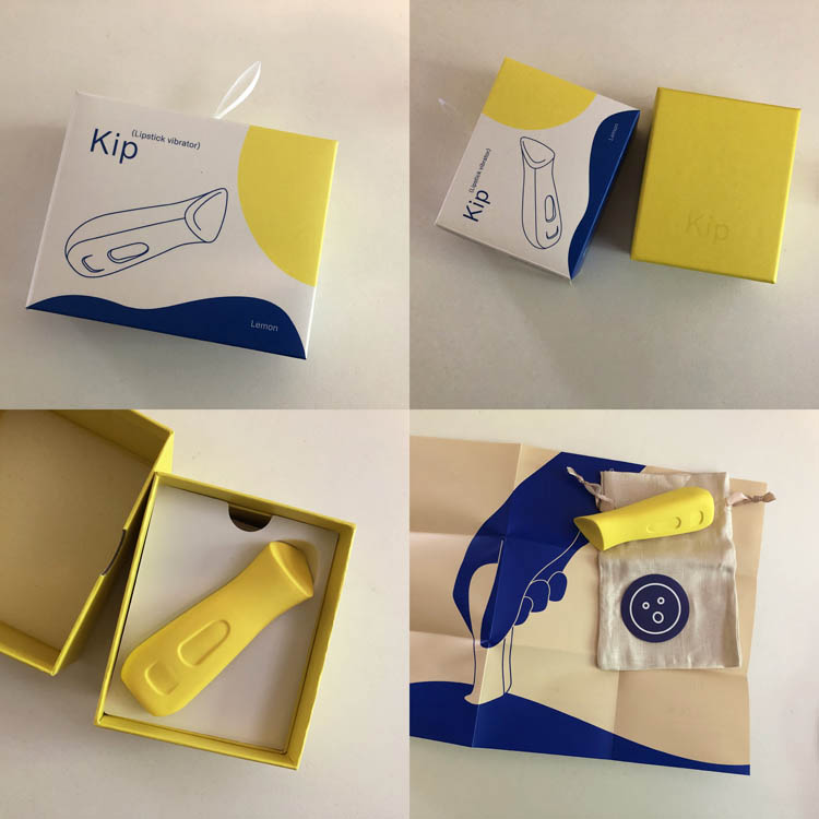 Dit is een afbeelding van verpakking dame products kip vibrator
