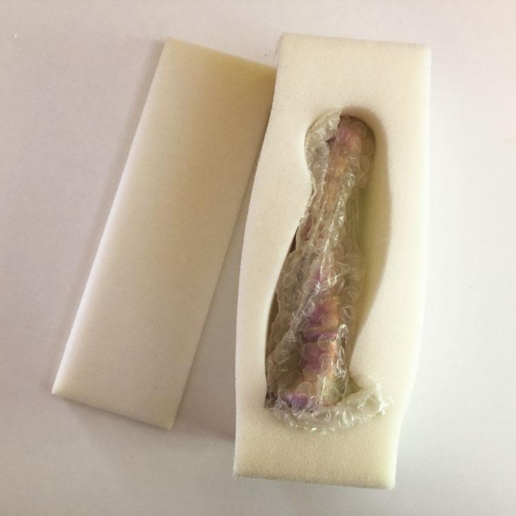 Dit is een afbeelding van verpakking glazen dildo sensual glass nikita
