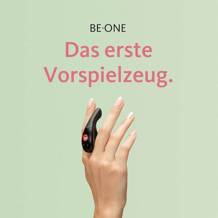 Dit is een afbeelding van fun factory be one vinger vibrator